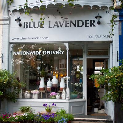 Blue Lavender, London Florist and flower shop, London SW13