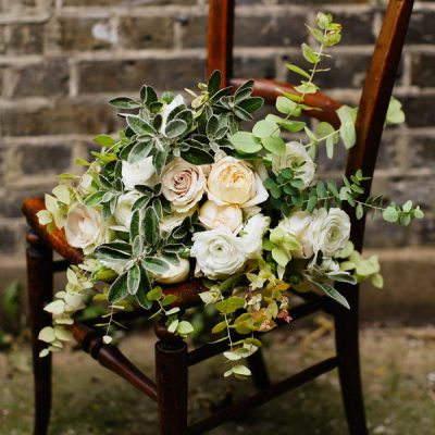 Avalanche flower bouquet by Blue Lavender London florists