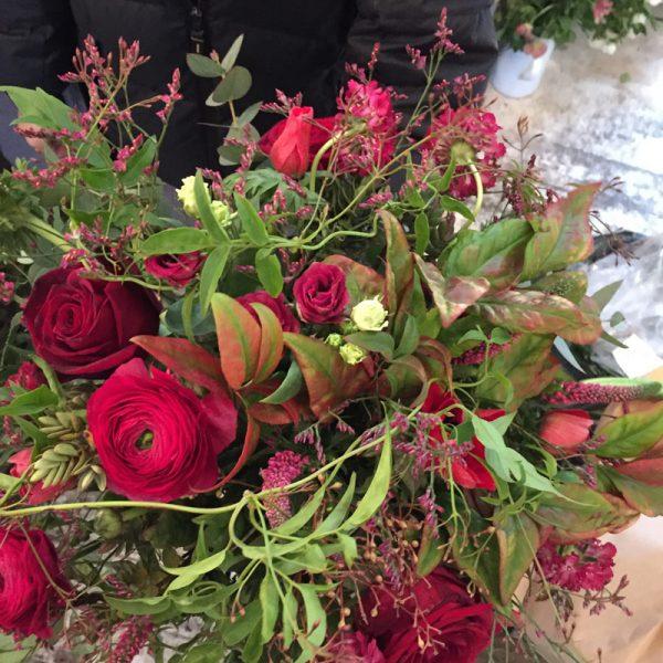 Le Rouge Bouquet by Blue Lavender Florists, London