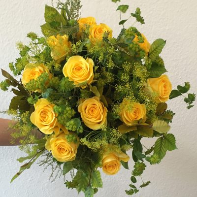 Le Soleil Jaune Bouquet by Blue Lavender Florists, London