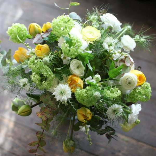 Le Vert et Blanc bouquet by Blue Lavender Florists, London