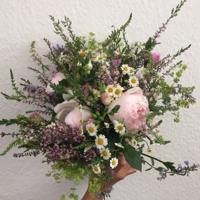 Printemps fresh flower bouquet by Blue Lavender, London florist