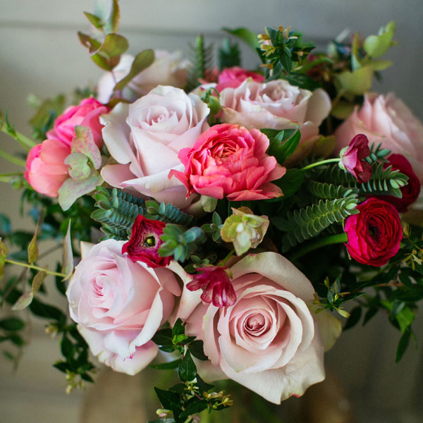 Jardin Secret flower bouquet by Blue Lavender London Florist