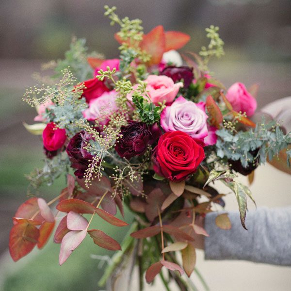 La Vie Belle flower bouquet by Blue Lavender London florist