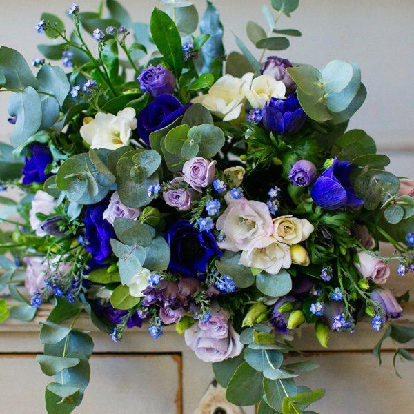 Etoile flower bouqut by Blue Lavender London Florist