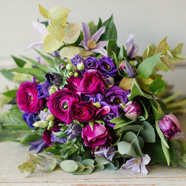 Pelin De Vie fresh flower bouquet by Blue Lavender London florist