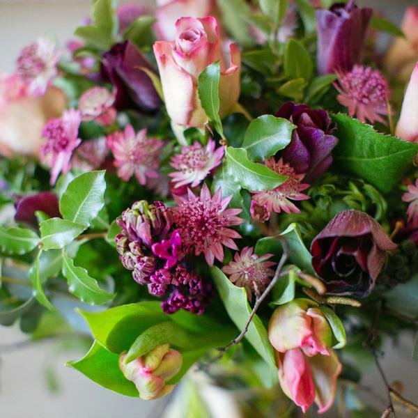 Pour tous jours bouquet by Blue Lavender London florist