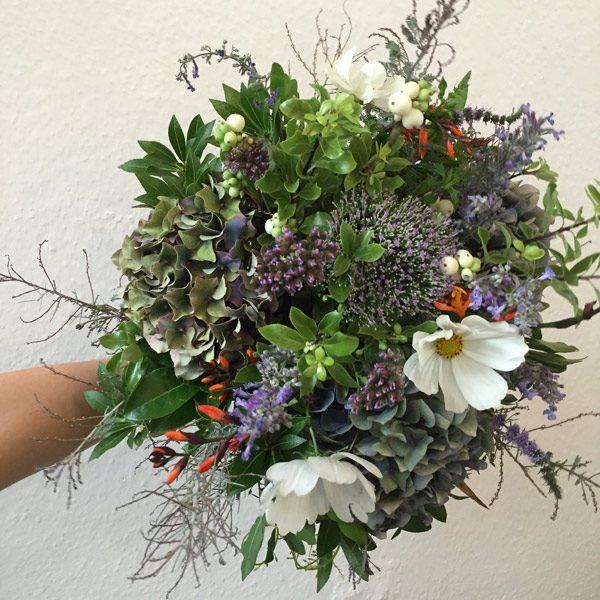 Fin de l'ete bouquet by Blue Lavender Florists Londonondon