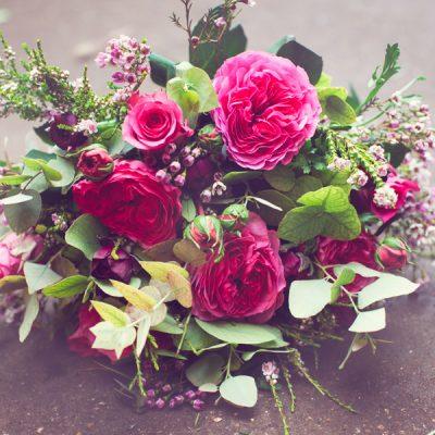 Valentine Bruyere bouquet by Blue Lavender Florist London