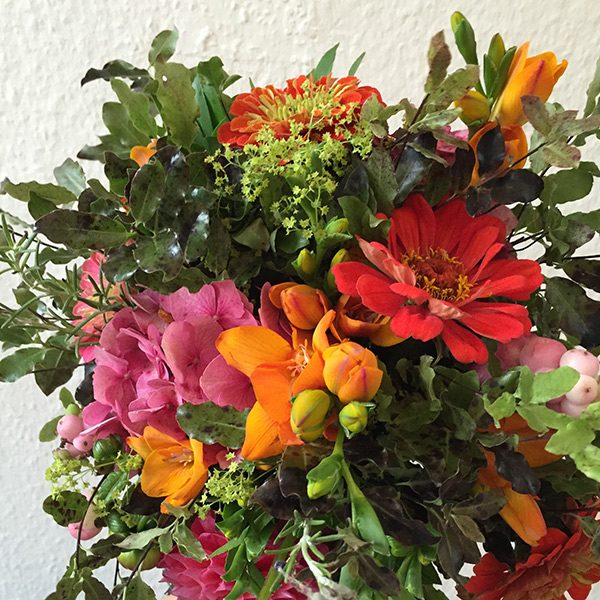 L'orange Epicee bouquet by Blue Lavender Florists, London