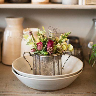 Antique sugar bowl